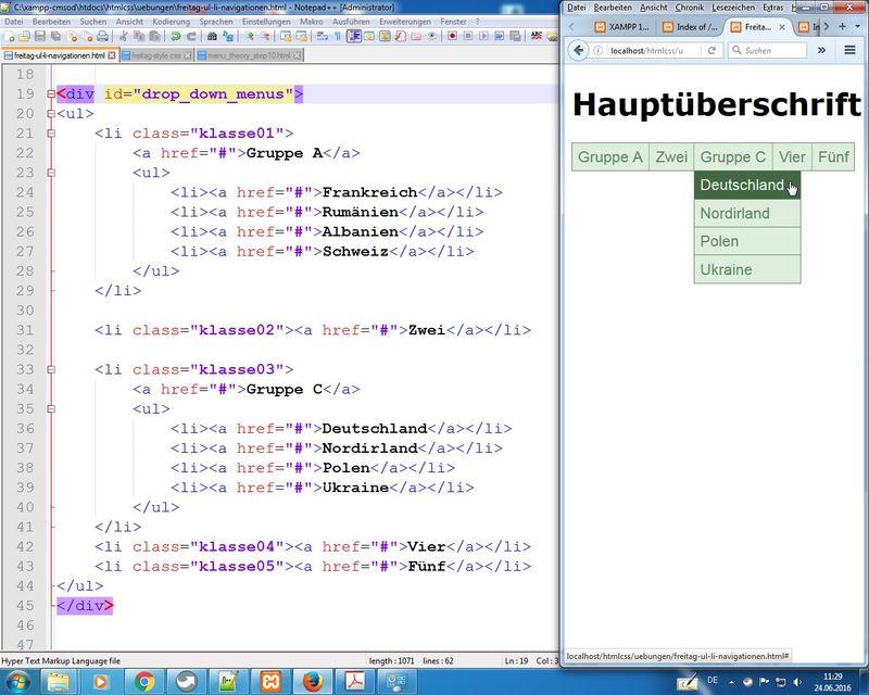 HTML & CSS / VHS WF / 20. - 24.06.16