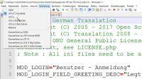 Kodierung UTF-8 ohne BOM