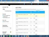 CPU Liste