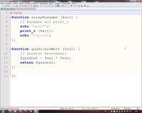 function - Prozedur