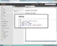 Setup TypoScript