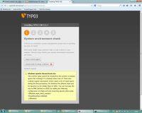 TYPO3 Installation