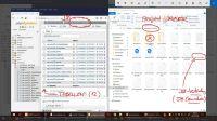 DB-Tabellen + Projektordner